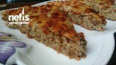 İçli Köfte Tadında Börek ( Yufkasız ) Turkish Recipes, Meatloaf, Banana Bread, Cake Recipes, Bakery, Food And Drink, Yummy Food, Healthy Recipes, Dishes