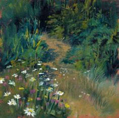 The High Road by Brenda Ferguson, painting by artist Brenda Ferguson