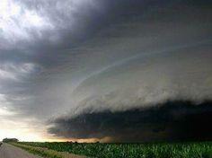 Hurrican Katrina moving in....