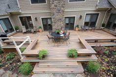 Baltimore Fiberon deck - Modern - Deck - Baltimore - by Fine Decks Inc. - Houzz