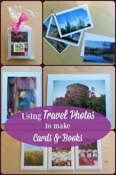 Cards from travel photos.you see them in the boutique stores, but did you realize how easy they are to make? Find inspiration in this simple tutorial! Travel Advice, Travel Tips, Travel Ideas, Travel Articles, Travel Hacks, Travel Packing, Travel Crafts, Travel Souvenirs, Passport Travel