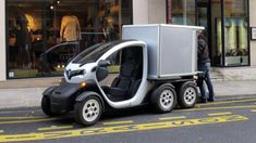 Renault Twizy Delivery concept revealed on Twitter