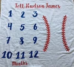 baby arrival info are offered on our site. Check it out and you wont be sorry you did. Baby Boy Baseball, Baseball Nursery, Baseball Baby Blanket, Baseball Baby Showers, Baseball Stuff, Baby Boy Blankets, Baby Milestone Blanket, Milestone Blankets, Month Blanket Baby
