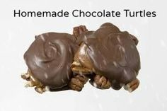 Photo of Easy Carmel pecan turtles Köstliche Desserts, Delicious Desserts, Dessert Recipes, Yummy Food, Yummy Yummy, Carmel Desserts, Delish, Sweet Desserts, Dessert Bars