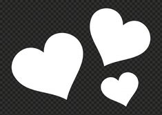 Love Png, Silhouette Png, Red Daisy, Heart Shapes, Hearts, Graphics, Pictures, Free, Image
