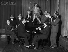 """Swing Session with Jazz Band"" © Bettmann/CORBIS, 1920s"