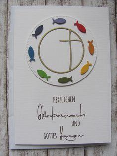 Weiteres - Kommunionkarte - ein Designerstück von Inifee bei DaWanda