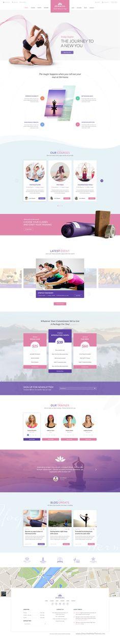 Hermosa - Health Beauty & Yoga PSD Template