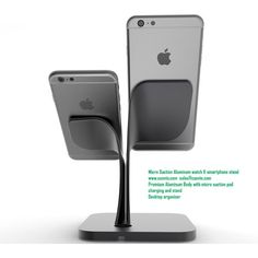 Premium Micro suction Aluminum Stand for smart watch and smart phone