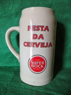 Sonho Antigo: Caneca de Cerveja Super Bock