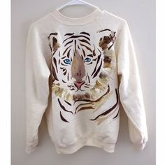 I just discovered this while shopping on Poshmark: Vintage hand painted sweatshirt. Check it out! Price: $20 Size: S