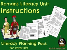 Download our popular ten-lesson unit of work on reading and writing instructions based around the topic Romans.<br /> <br /> The ten lessons in this unit aim to give children the opportunity to understand the features of instructions as a genre. In the fi...