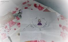 Stitcher: Petite Armoire  Design is part of: The Snowflower Diaries: Lavender Girl (2013)
