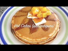 COMO HACER HOT CAKES | #VickyRecetaFacil - YouTube Spanish Desserts, Baking, Breakfast, Puerto Ricans, Recipes, Food, Watch, Homemade Pancakes, Meals