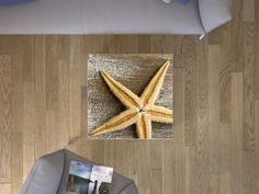 """Die #Klebefolie mit dem Design """"Starfish"""" für deine IKEA Möbel und vieles mehr… #IKEA #Hacks #LACK"""