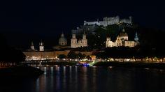 Salzburg at Night II