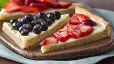 Red, white and ooh! Fork into sweet sugar cookie crust, creamy filling and a bursting-with-berries top.