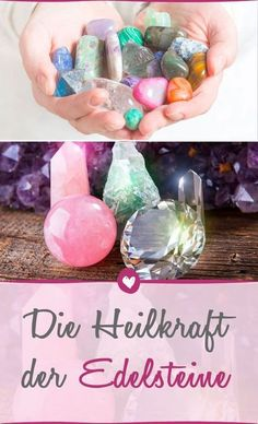 The healing power of the gems- Die heilende Kraft der Edelsteine Gems have a magical effect – also on health. Health And Wellness Quotes, Health Tips, Health Cleanse, Crystal Shapes, Alternative Therapies, Crystals Minerals, Health Motivation, Crystal Healing, Natural Health