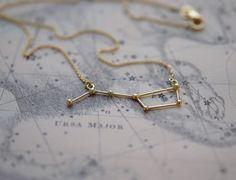 'Ursa major' 14k gold   made by Twinklebird