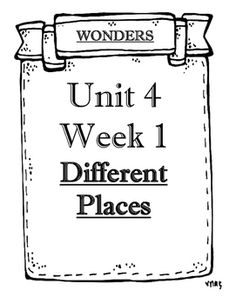 These are objectives sheets for your objective boards based on the weekly tested skills from the Wonders reading series. They are…