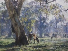 A New Day by John McCartin Oil ~ 59cm x 77cm