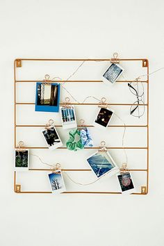 Square Wire Wall Grid
