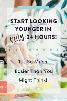 Food for Younger Skin - Younger Skin Food Learn how to look younger in just 24 hours without expensive treatments, skincare routines, products, or supplements. I'll show you how to start looking younger than you are, whether you are in your Younger Skin, Look Younger, Skin Care Regimen, Skin Care Tips, Beauty Regimen, Skin Tips, Beauty Hacks For Teens, Skin Care Routine For 20s, Skincare Routine
