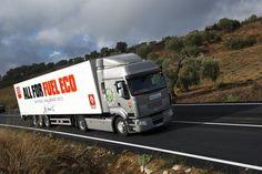 Optifuel challenge truck in action
