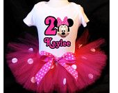 Minnie Mouse Pink Tutu 1st Birthday Outfit Costume Tutu and Top Included. $33.99, via Etsy. 2 Year Old Birthday Party, 1st Birthday Outfits, Birthday Ideas, Minnie Mouse Pink, Mini Mouse, Tutu Costumes, Pink Tutu, Party Planning, Theme Ideas