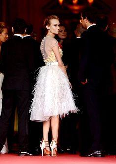 Girl crush alert: Diane Kruger in Prabal Gurung dress and Nicholas Kirkwood heels.