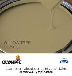 WILLOW TREE OL736.5 is a part of the greens collection by Olympic® Paint.