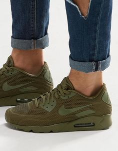 best service 7efc2 a5f14 Image 1 of Nike Air Max 90 Ultra Breathe Trainers 725222-201 Air Max 90
