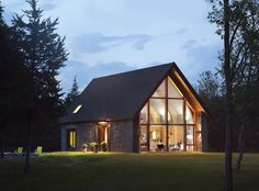 BarlisWedlick's contemporary Hudson farmhouse, which has achieved Passive House status for its energy efficiency
