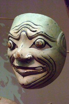Balinese Wayang Topeng Theater Masks