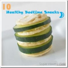 Bedtime Snacks:  10 Quick and Healthy Ideas | Recipes!