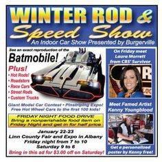 Winter Rod & Speed Show on Jan. 22 & 23rd at the Linn County Fairgrounds Expo Center in Albany Oregon