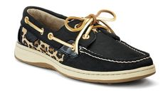 Sperry's Women's Bluefish 2-Eye Boat Shoe - I normally hate boat shoes, but I like the funky take on these