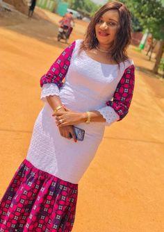 African Fashion Ankara, Latest African Fashion Dresses, African Print Fashion, African Style, Long African Dresses, African Blouses, Iranian Women Fashion, African Traditional Dresses, African Attire