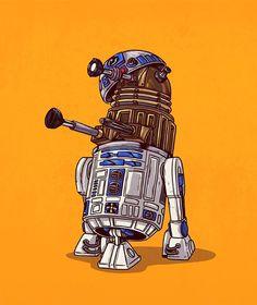 Alex Solis: R2-D2 Unmasked #iconsunmasked