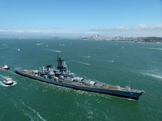 USS Iowa (BB-61) Soon to be on the San Pedro waterfront
