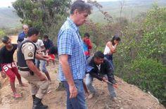 #News  Polícia Civil trabalha para identificar corpo encontrado em abismo no município de Caraí