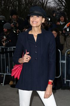 Ines de la Fressange Photos: Arrivals at the Chanel Runway Show — Part 4