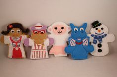 Finger Puppets-- Doc McStuffins on Etsy, $16.00