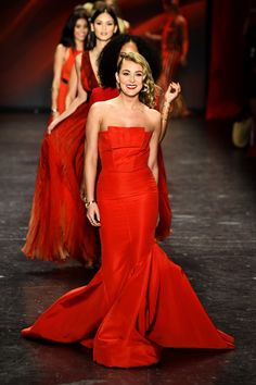 The American Heart Association's Go Red For Women Red Dress Collection 2016 Presented By Macy's - Runway