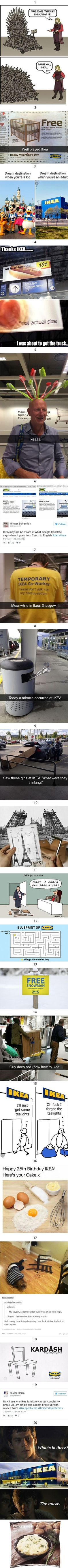 All this can be found in Ikea