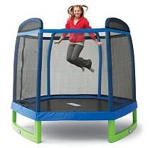 This could be Wakefield's first trampoline!  You can find it at Sam's club. @markey