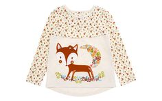 Fox Motif Top - Children - Tu Clothing At Sainsbury's Cool Outfits, Kids Fashion, Fox, Children, Clothing, Stuff To Buy, Winter Time, Young Children, Kleding