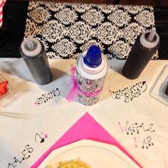 Cat's BD Waffle Bar Food Table Set Up #5