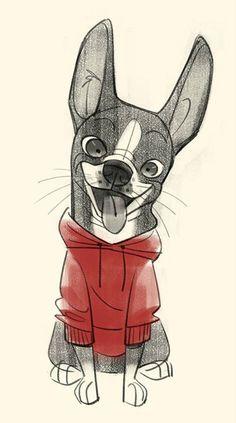 """Winston"" by Bobby Pontillas* Character Design | © Walt Disney Animation Studio…"