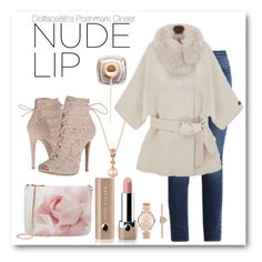 """""""✦Nude Lips✦"""" by stacypark86 ❤ liked on Polyvore featuring beauty, Ted Baker, Chinese Laundry, Marc Jacobs, Calvin Klein, LE VIAN and Michael Kors"""